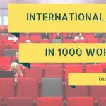International Law 1000 words
