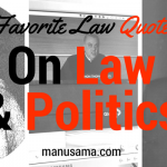 quote law and politics