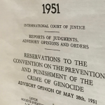 Classic Cases: Reservations to the Genocide Convention (1951)